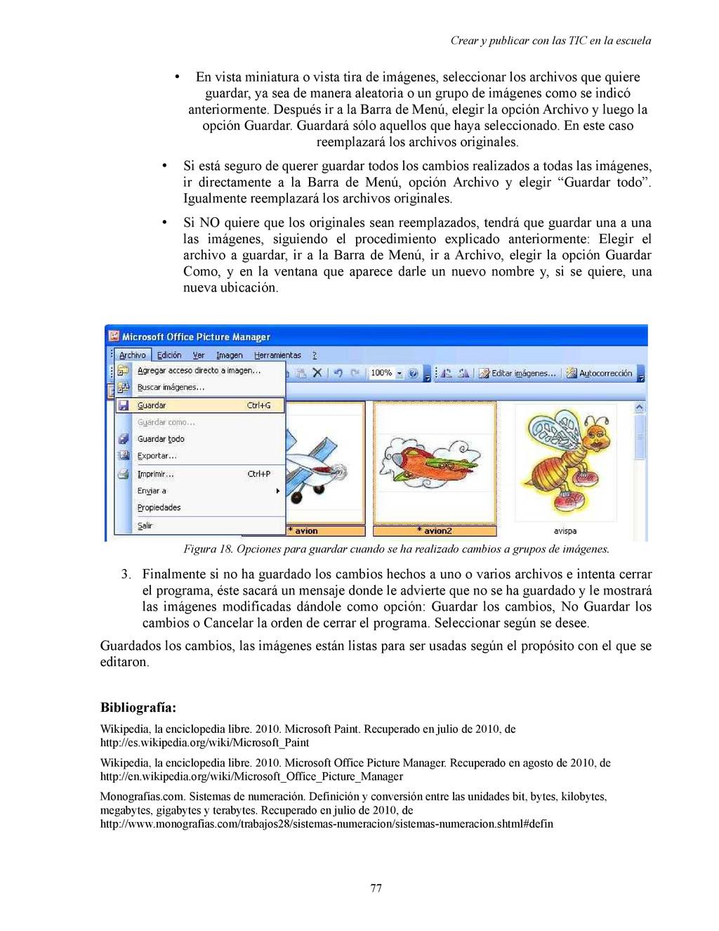 Crear y publicar con las TIC en la escuela • En...