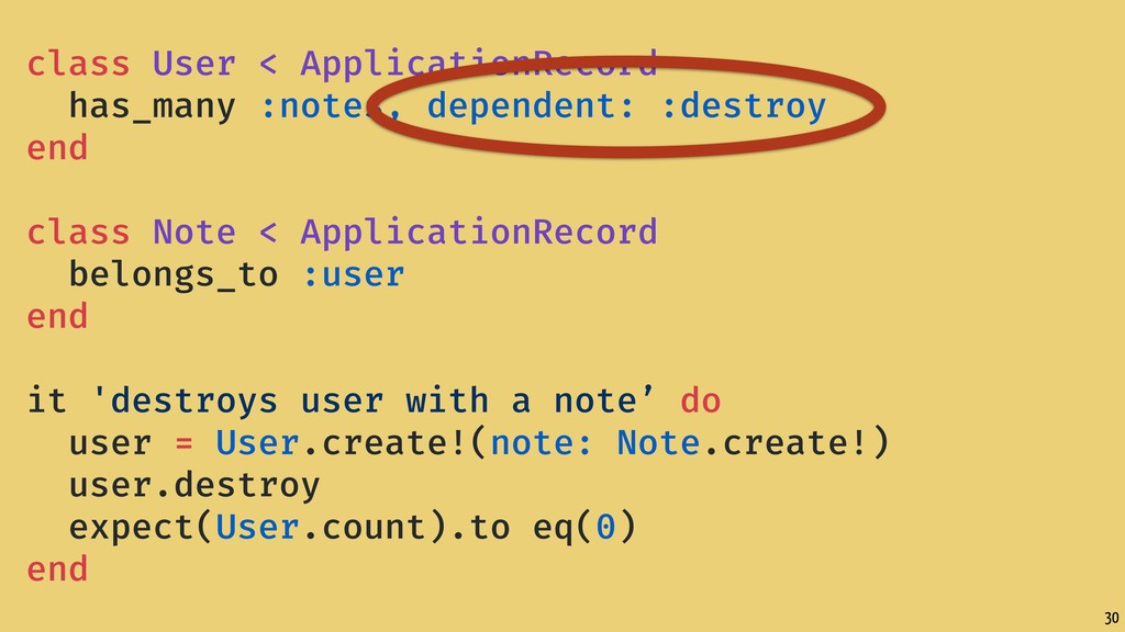 30 class User < ApplicationRecord has_many :not...
