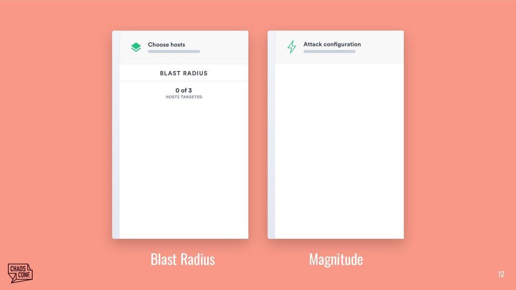 12 Blast Radius Magnitude