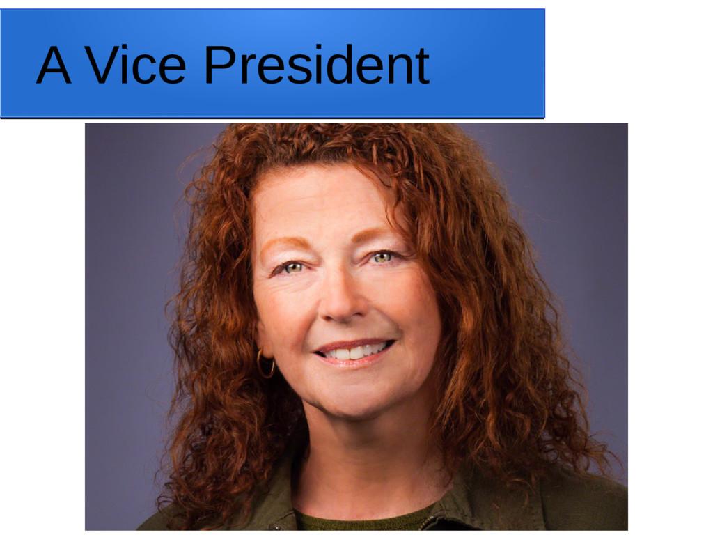 A Vice President