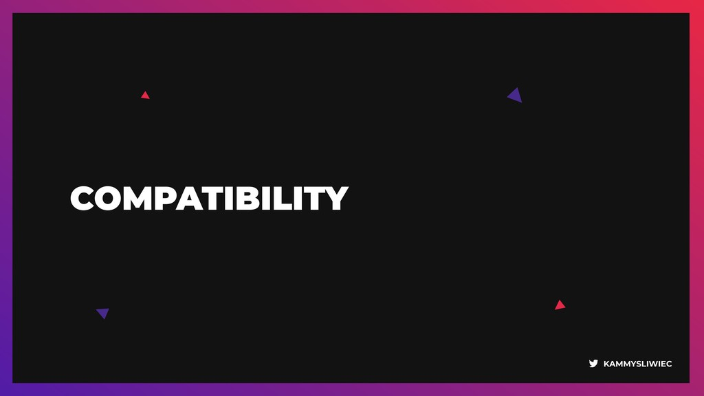 KAMMYSLIWIEC COMPATIBILITY