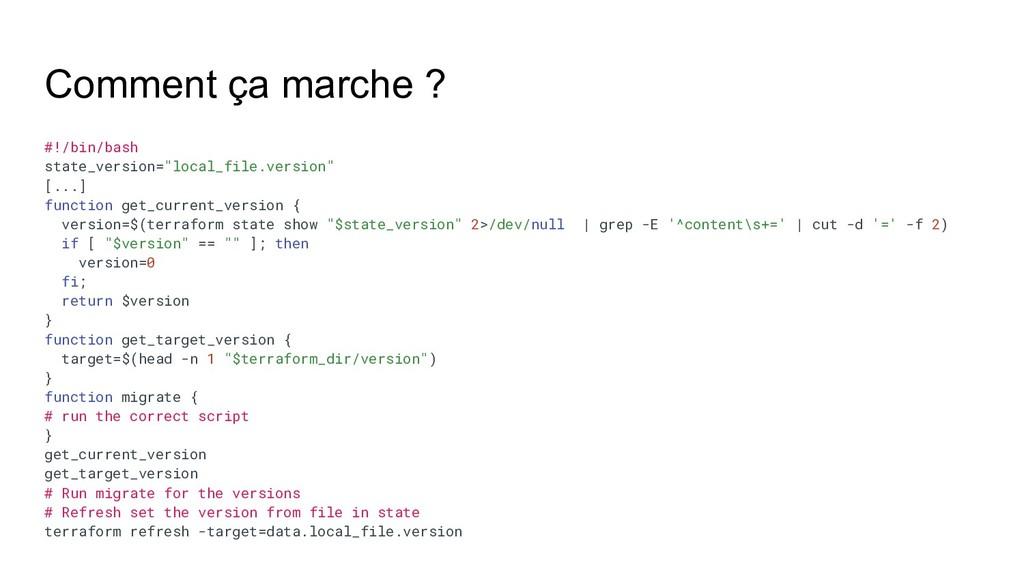 """Comment ça marche ? #!/bin/bash state_version=""""..."""