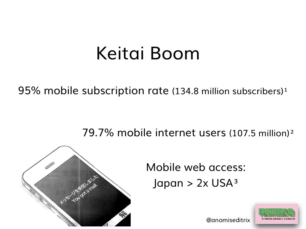 95% mobile subscription rate (134.8 million sub...