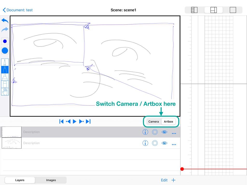 Switch Camera / Artbox here