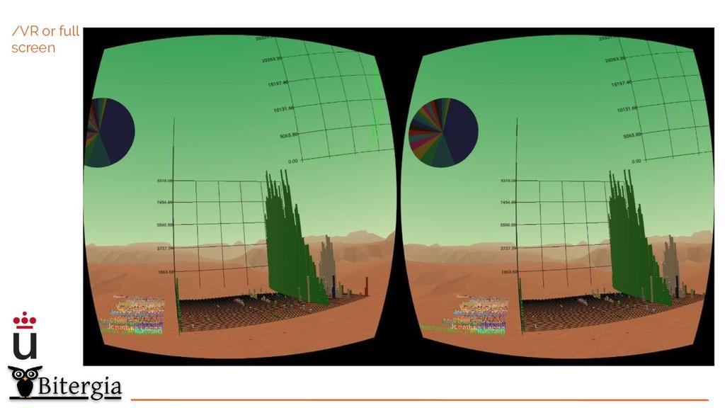 /VR or full screen