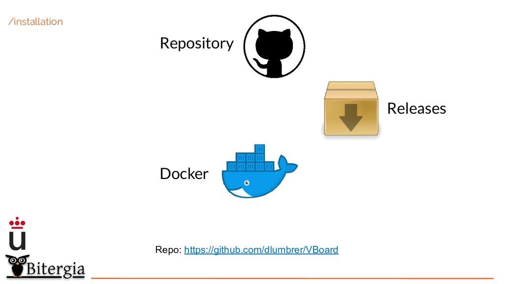 /installation Repository Releases Docker Repo: ...