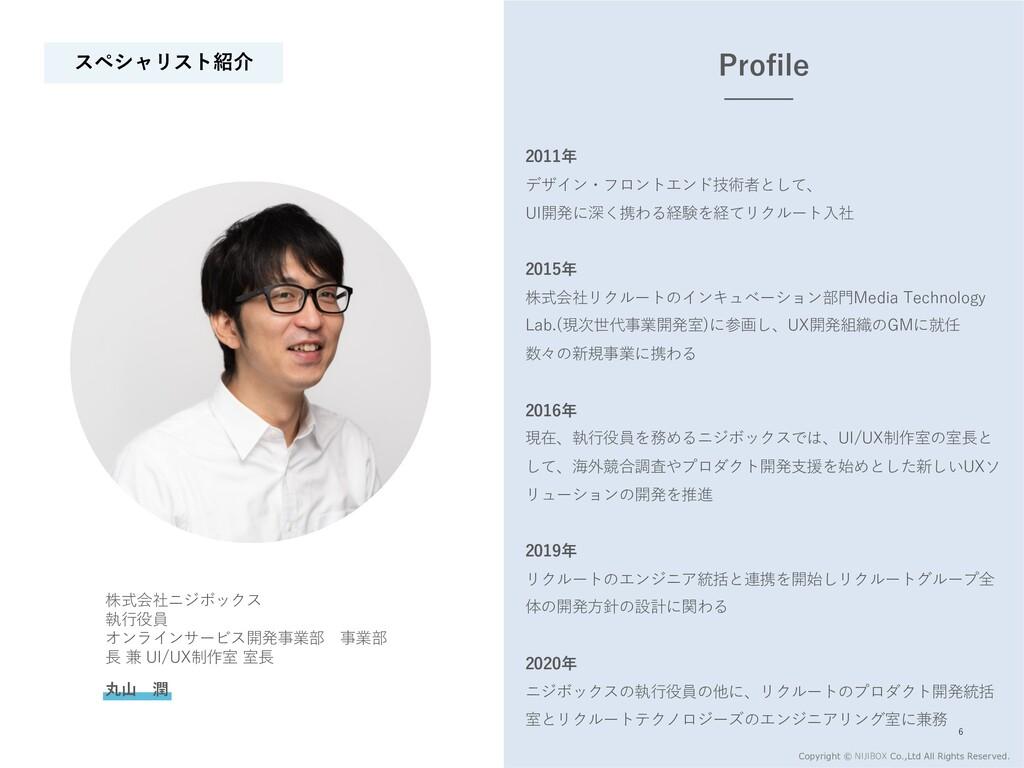2011年 デザイン・フロントエンド技術者として、 UI開発に深く携わる経験を経てリクルート⼊...