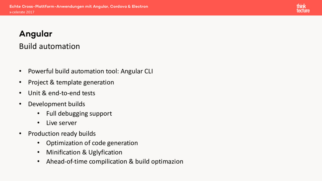 Build automation • Powerful build automation to...