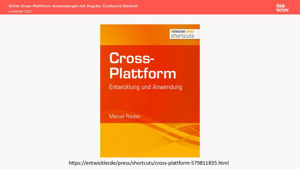Echte Cross-Plattform-Anwendungen mit Angular, ...