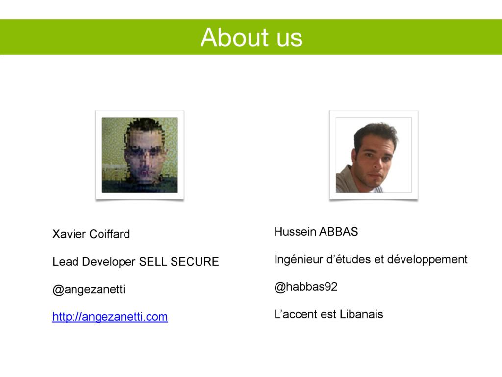 Hussein ABBAS Ingénieur d'études et développeme...