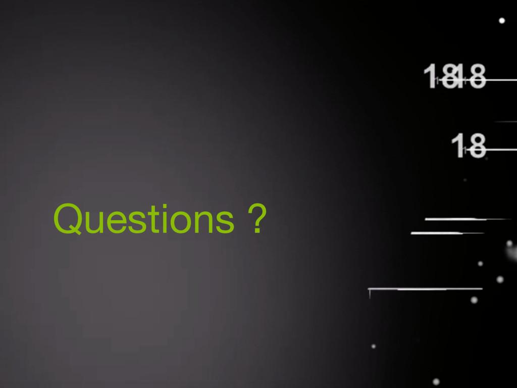 COIFFARD Xavier ABBAS Hussein Questions ?
