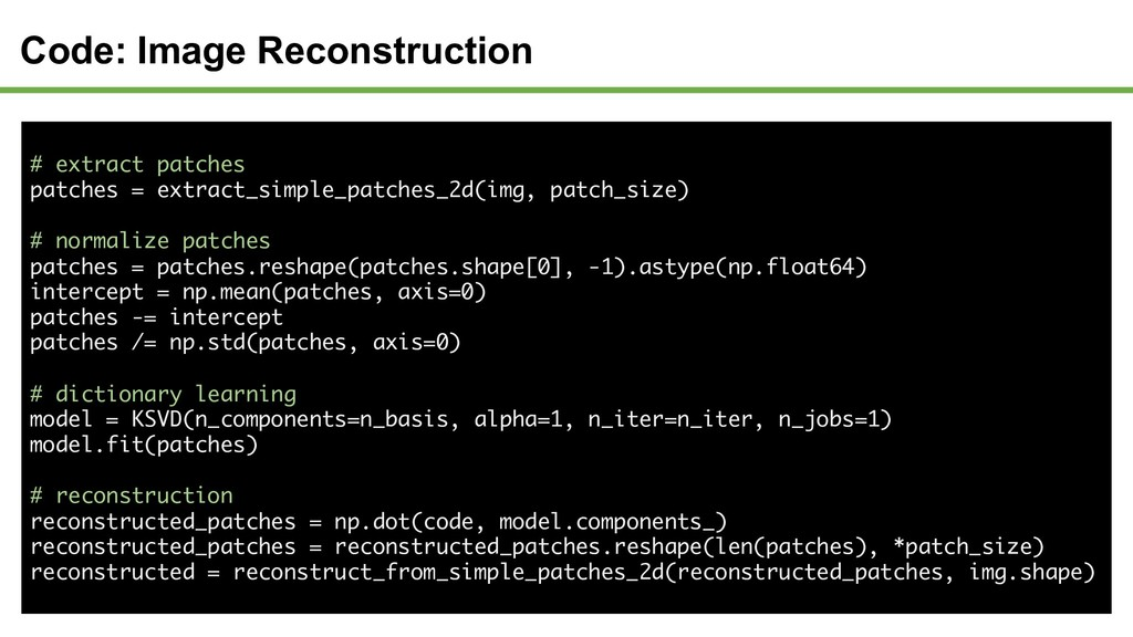 # extract patches patches = extract_simple_patc...