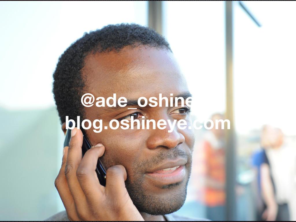@ade_oshineye blog.oshineye.com