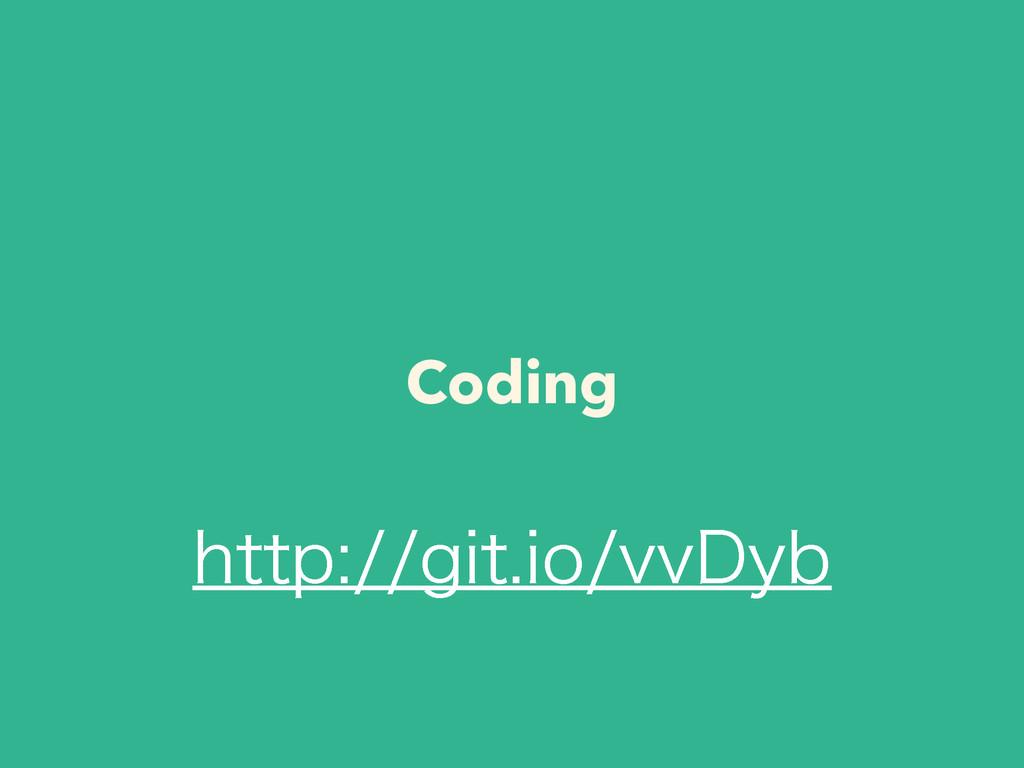 Coding IUUQHJUJPWW%ZC