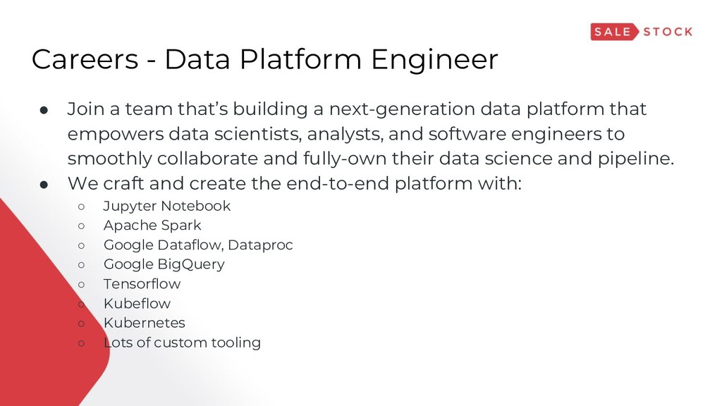 Careers - Data Platform Engineer ● Join a team ...