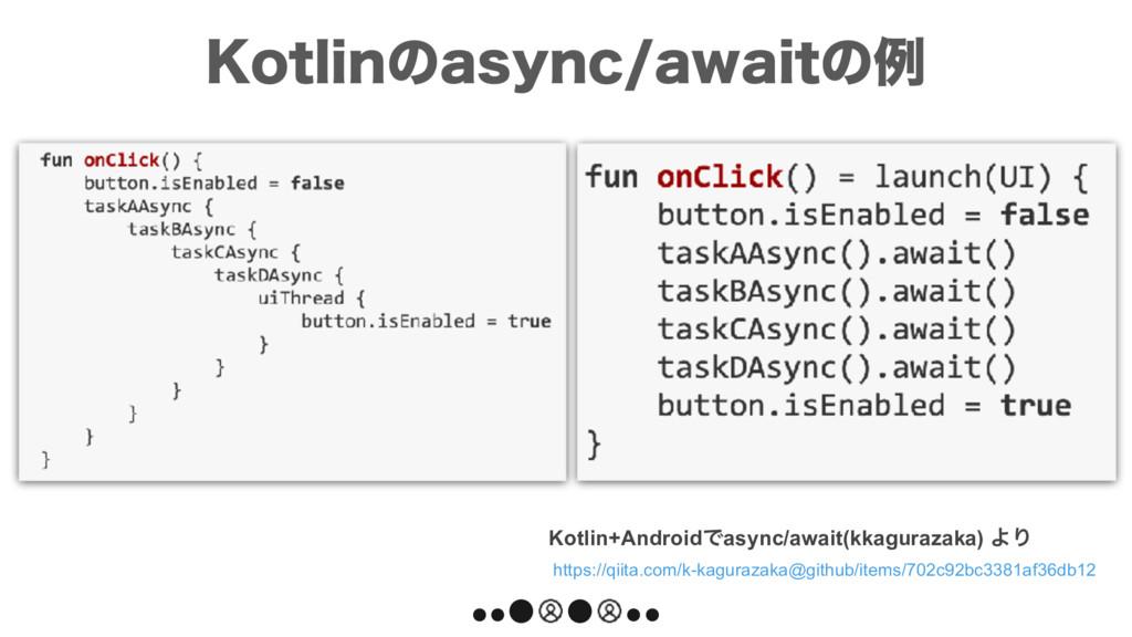 Kotlin+AndroidͰasync/await(kkagurazaka) ΑΓ http...