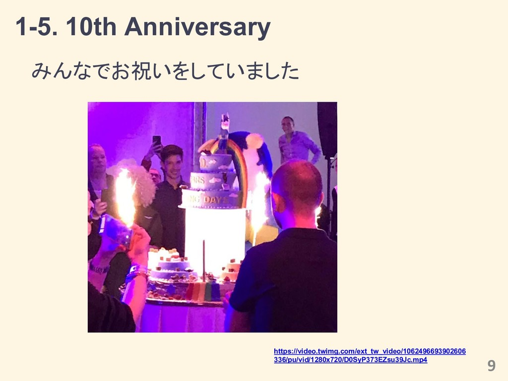 1-5. 10th Anniversary みんなでお祝いをしていました 9 https://...