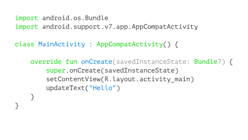 import android.os.Bundle import android.support...