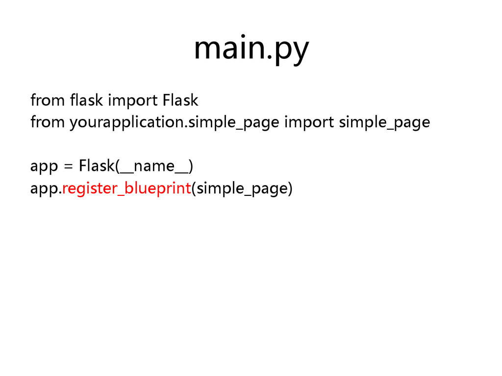 main.py  from flask import Flask  fro...