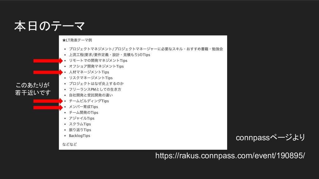 本日のテーマ connpassページより https://rakus.connpass.com...