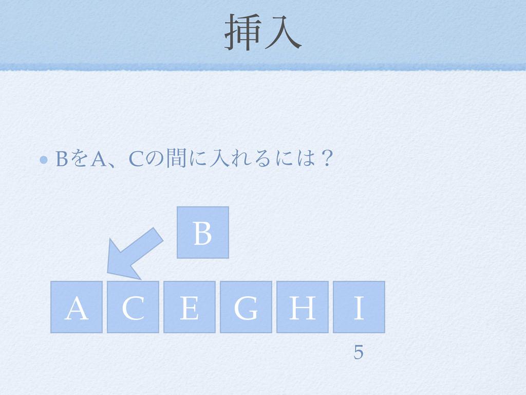 ૠೖ BΛAɺCͷؒʹೖΕΔʹʁ A C E I G H 5 B