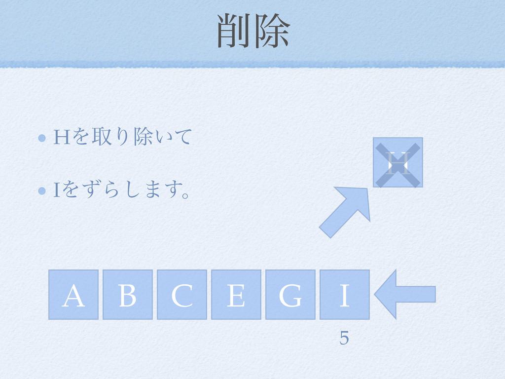 আ HΛऔΓআ͍ͯ IΛͣΒ͠·͢ɻ A C E I G H 5 B ×