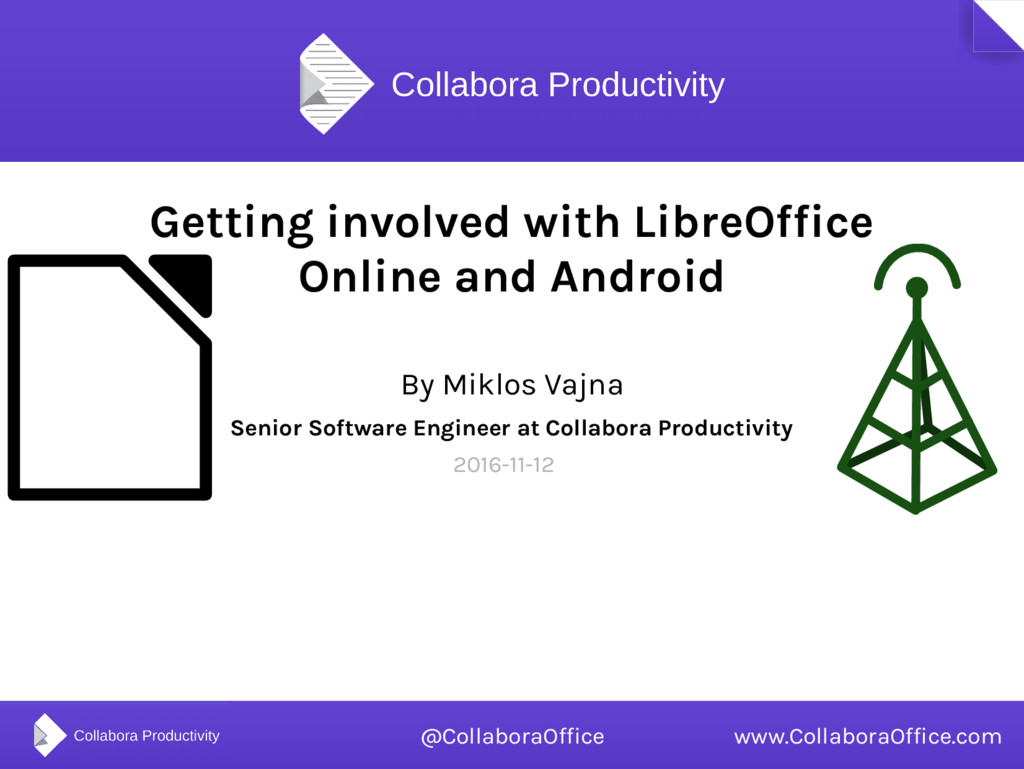 Getting involved with LibreOffice Online and An...