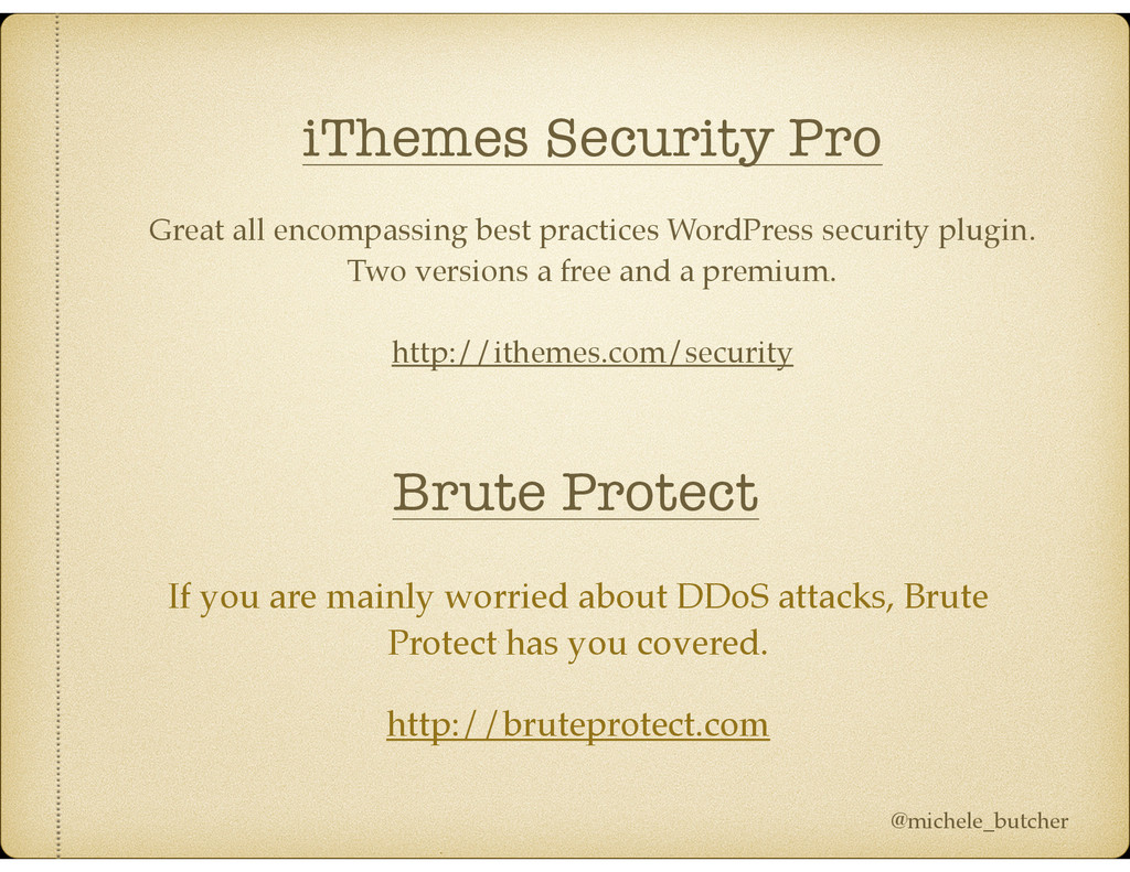 iThemes Security Pro Great all encompassing bes...
