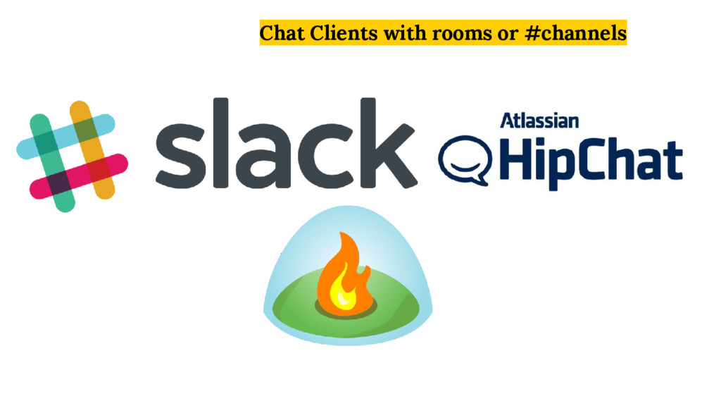 Chat Clients with rooms or #channels