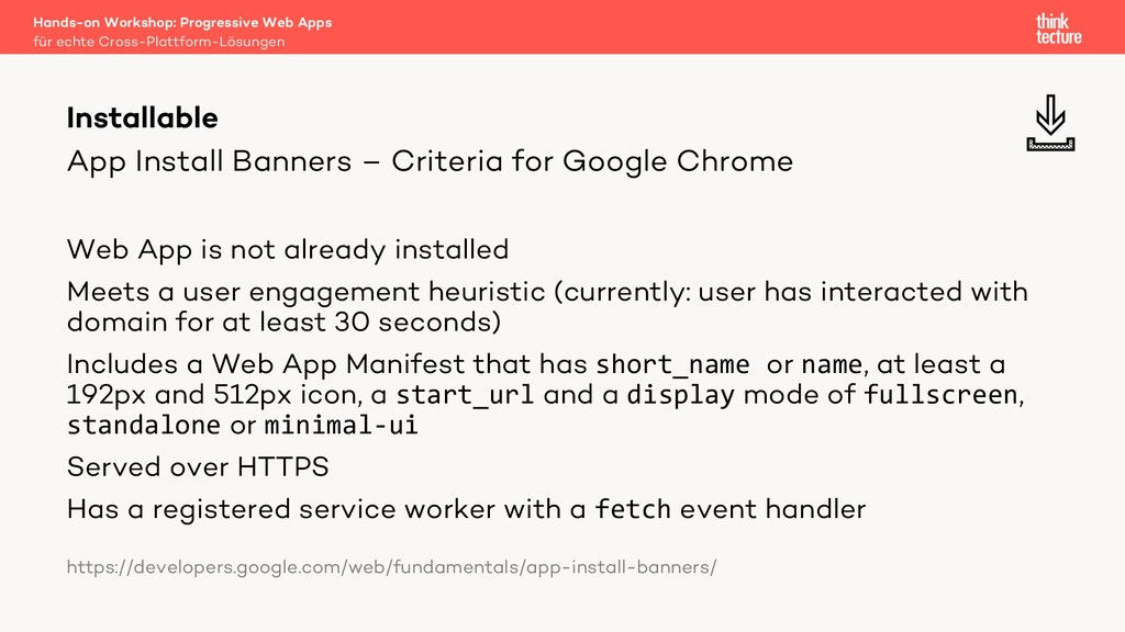 App Install Banners – Criteria for Google Chrom...