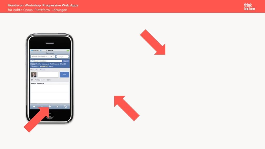 für echte Cross-Plattform-Lösungen Hands-on Wor...