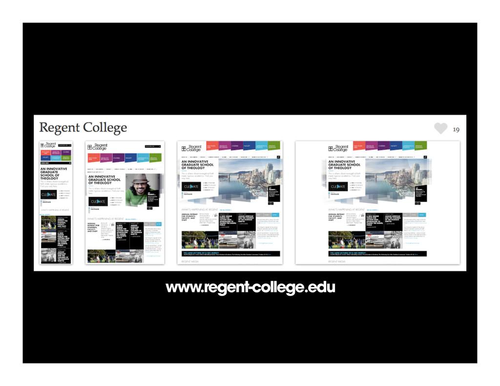 www.regent-college.edu www.regent-college.edu