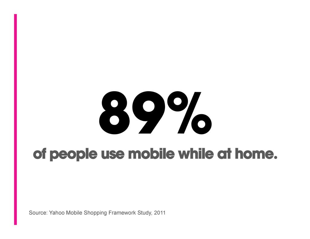 Source: Yahoo Mobile Shopping Framework Study, ...