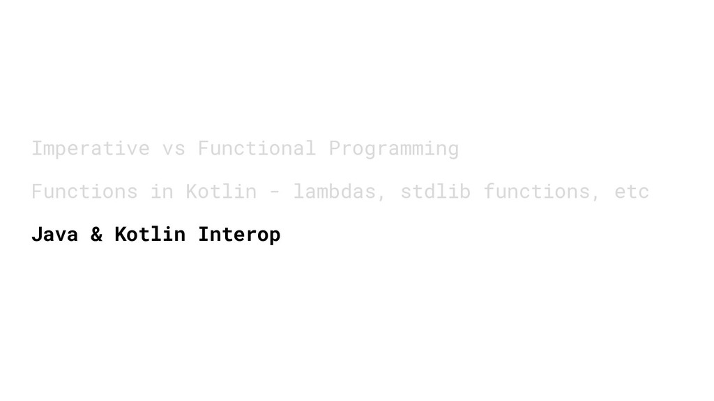 Imperative vs Functional Programming Functions ...