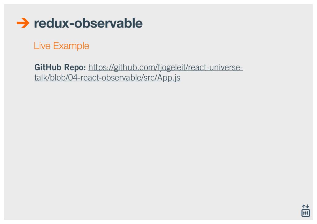 redux-observable GitHub Repo: https://github.co...