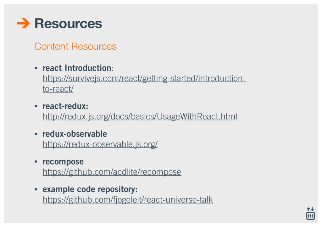 Resources • react Introduction:  https://survi...