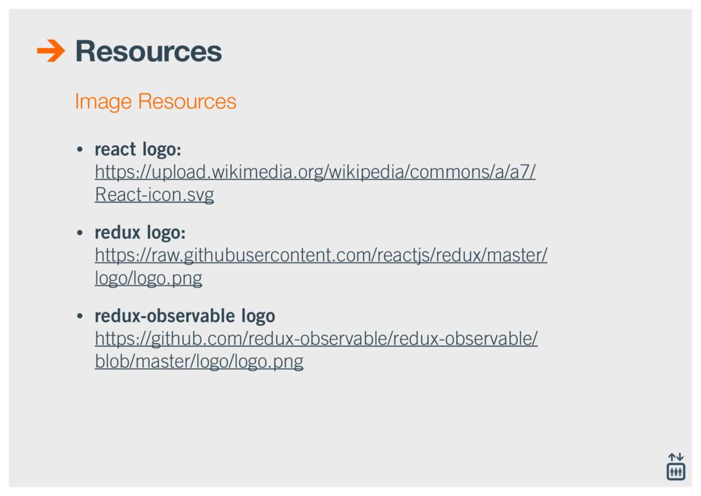 Resources • react logo:  https://upload.wikime...