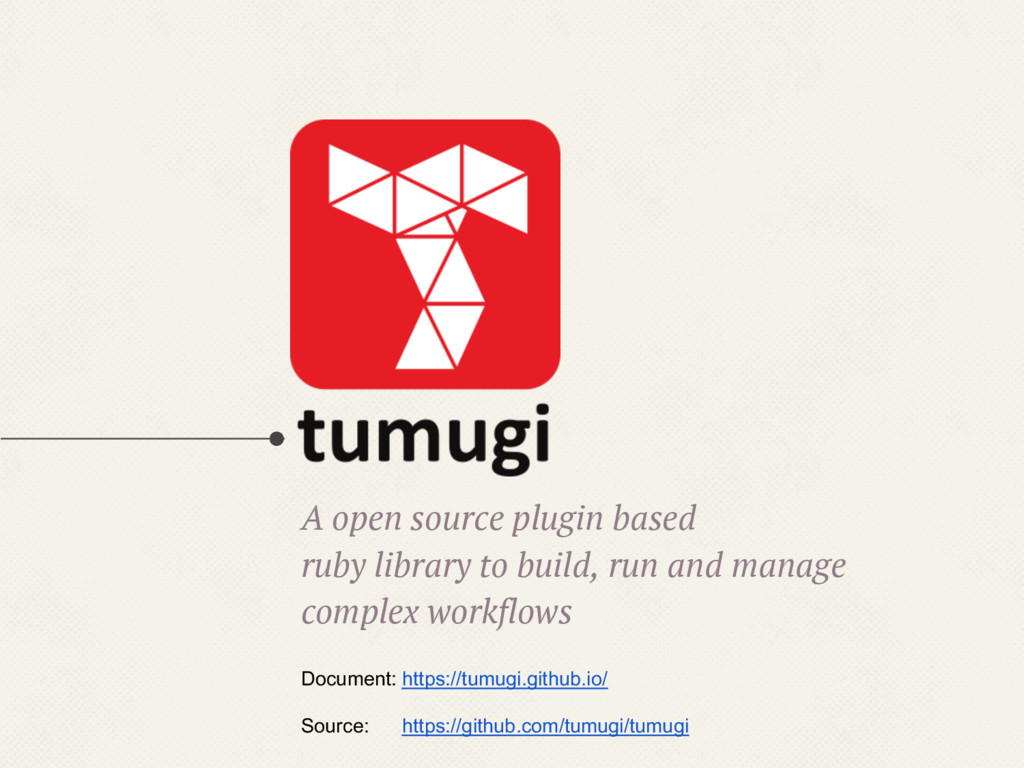 A open source plugin based ruby library to buil...
