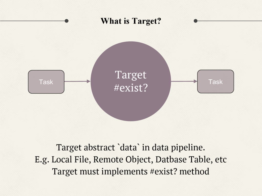 What is Target? Target abstract `data` in data ...