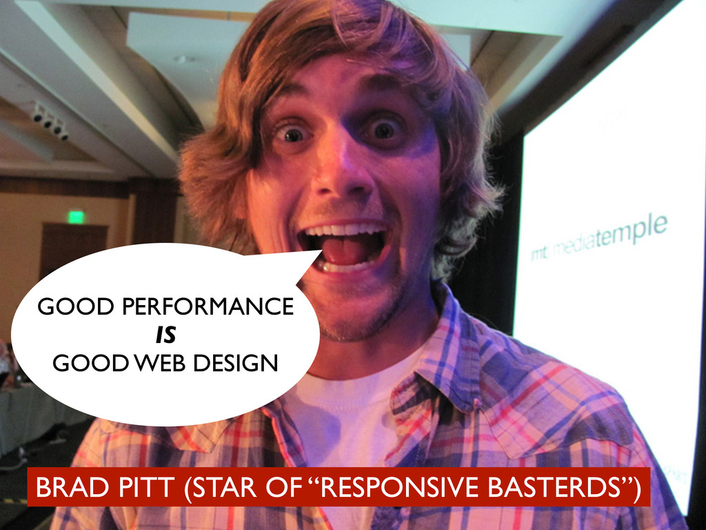 "BRAD PITT (STAR OF ""RESPONSIVE BASTERDS"") GOOD ..."