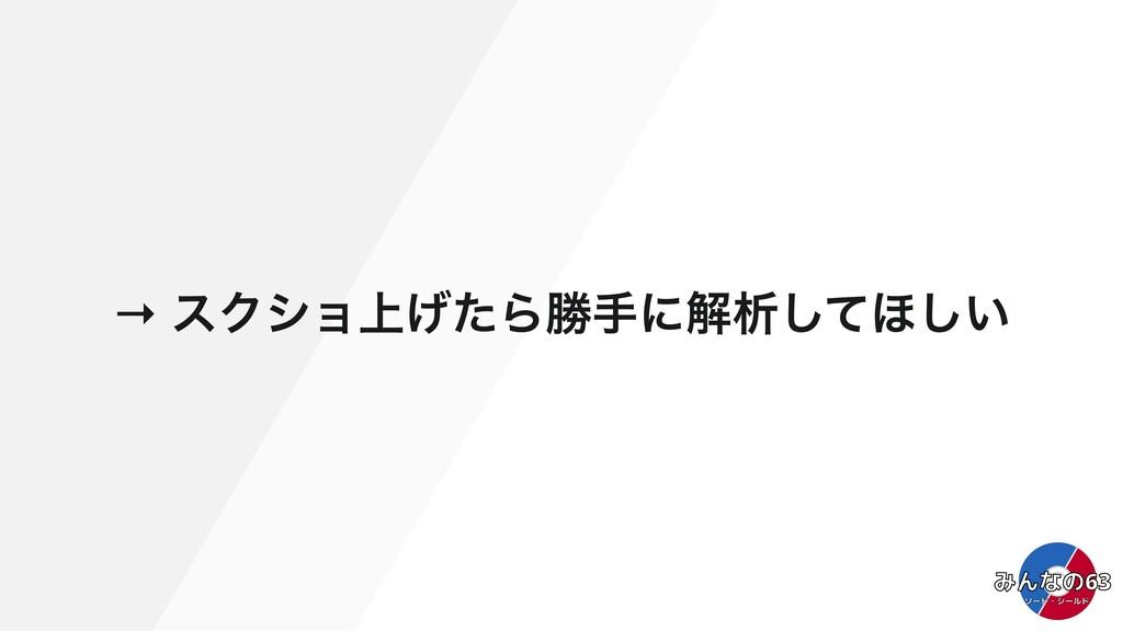 → εΫγϣ্͛ͨΒউखʹղੳͯ͠΄͍͠