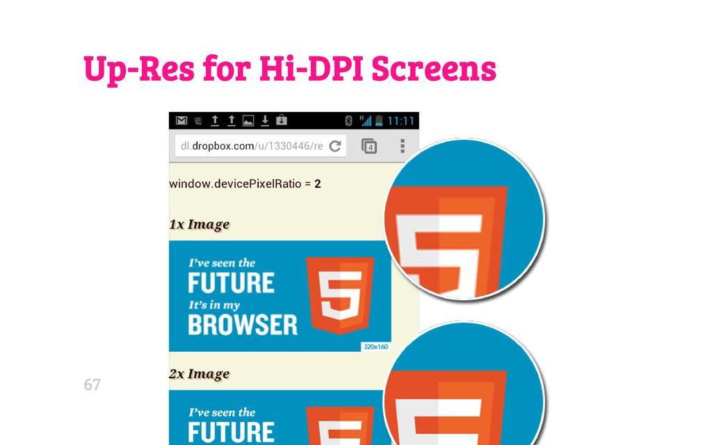 Up-Res for Hi-DPI Screens 67