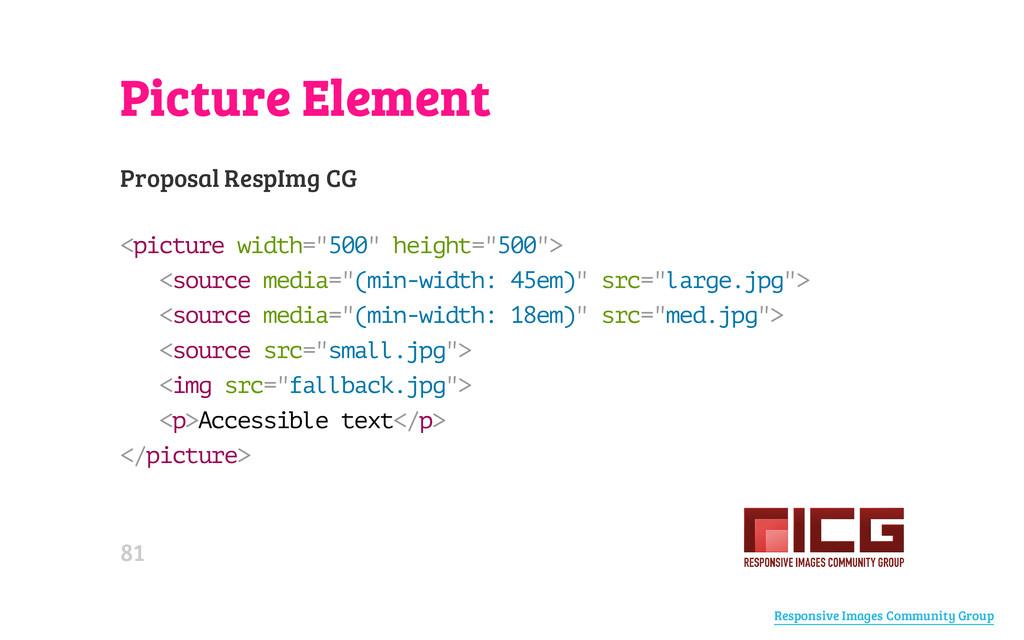 Picture Element Proposal RespImg CG < p i c t u...