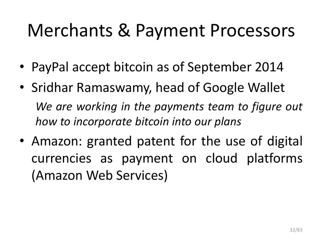 Merchants & Payment Processors • PayPal accept ...