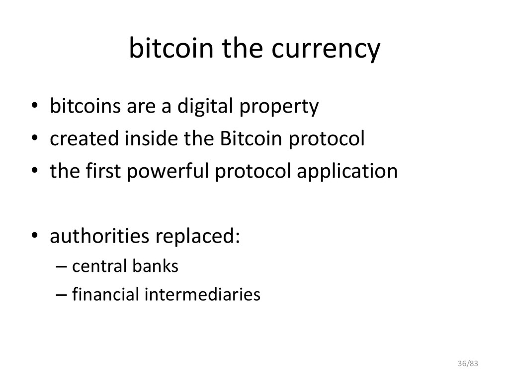 bitcoin the currency • bitcoins are a digital p...
