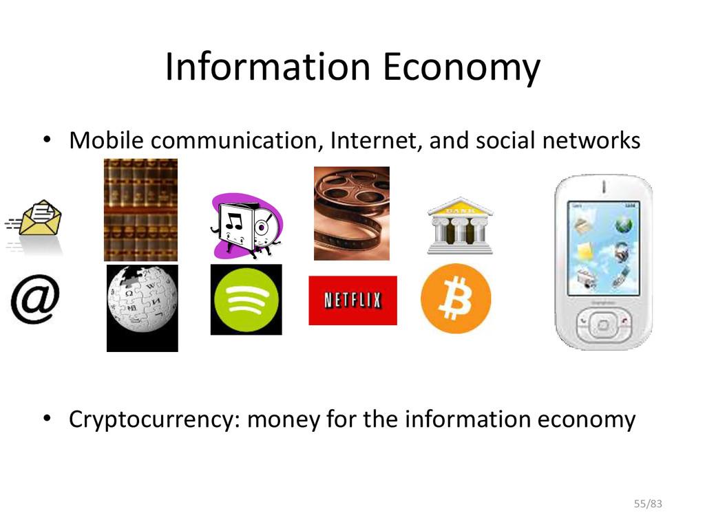 Information Economy • Mobile communication, Int...