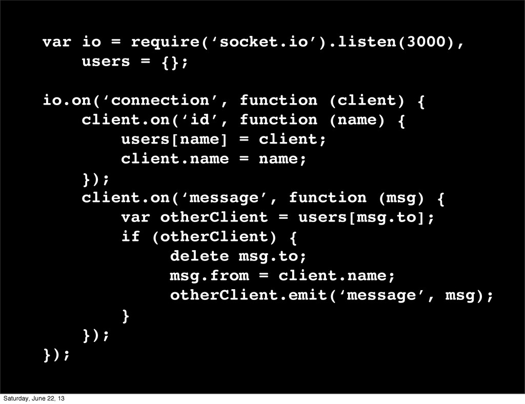 var io = require('socket.io').listen(3000), use...