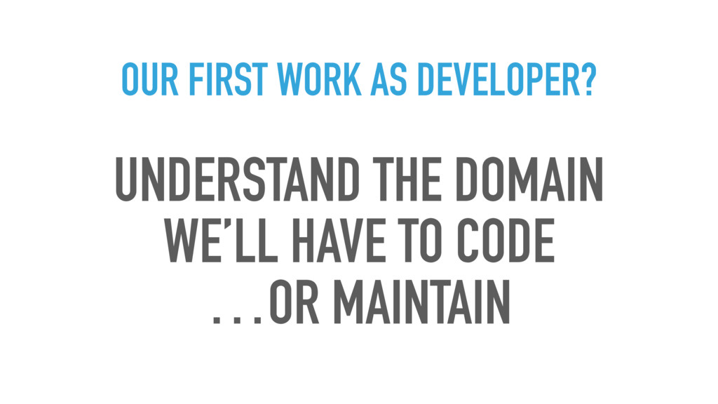 OUR FIRST WORK AS DEVELOPER? UNDERSTAND THE DOM...