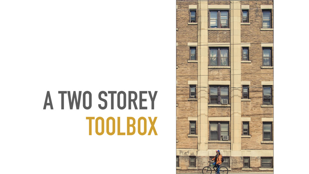 A TWO STOREY TOOLBOX