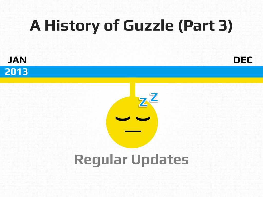 A History of Guzzle (Part 3)! JAN! DEC! 2013! R...
